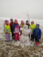 Sněhové hrátky - sluníčka
